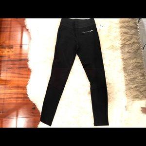 Zara leggings black sz Small NWT